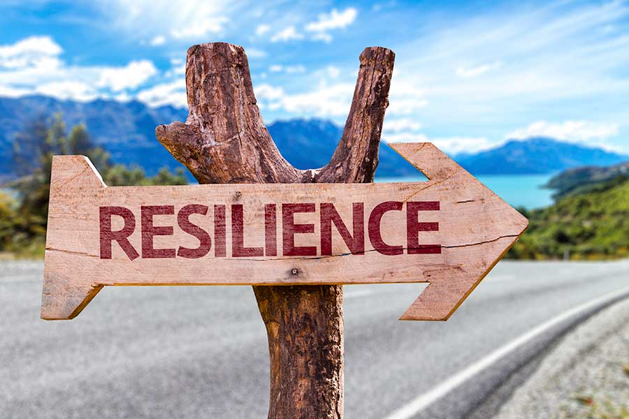 Signpost to RESILIENCE for teenagers.
