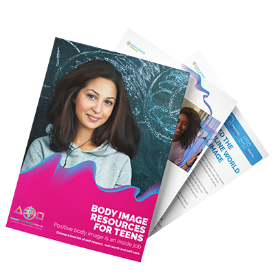 Body image ebook for teenagers